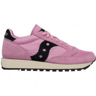 Saucony Jazz Original Vintage Pink/Black Women Shoes