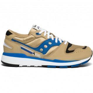 Saucony Azura Tan Blue Sneakers