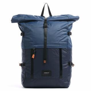 Backpack Sandqvist Bernt Lightweight Multi Navy blue