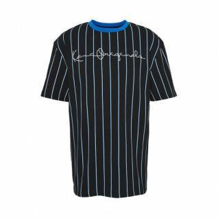 T-shirt Karl Kani Originals Pinstripe
