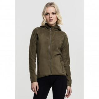 Sweatshirt woman Urban Classic polar fleece zip