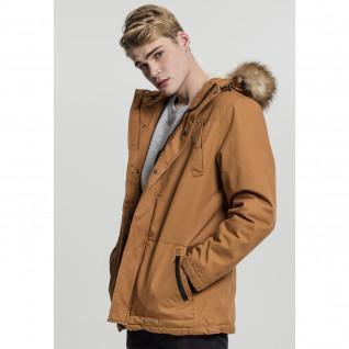 Parka Urban Classic heavy cotton imitation fur