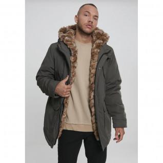 Parka Urban Classic hooded faux fur