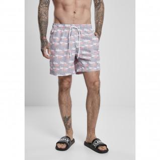 Swim shorts Urban Classics pattern (grandes tailles)