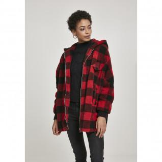 Women's Urban Classic hooded check parka