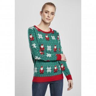 Sweatshirt woman Urban Classics santa christmas