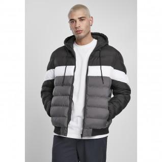 Jacket Urban Classics colorblock bubble