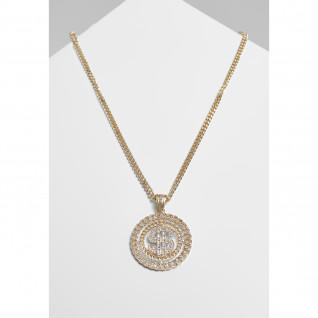 Necklace Urban Classics dollar diamond