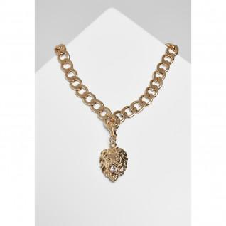 Necklace Urban Classics lion basic