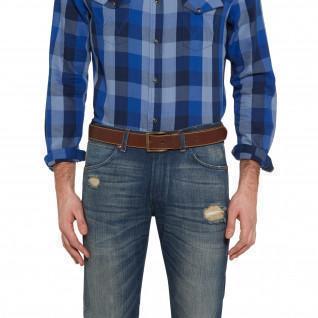 Wrangler stitched belt