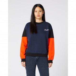 Sweatshirt woman Wrangler High Rib Retro