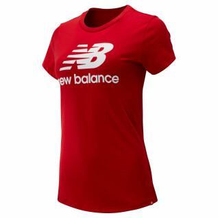 New Balance essentials stacked T-shirt