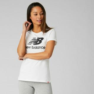 Women's T-shirt New Balance essentials stacked